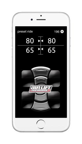Air Lift 3P 3H iPhone Control